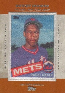 2013 Topps Series 1 Baseball Rookie Patch RCP 18 Dwight Gooden 211x300 Image