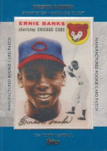 2013 Topps Series 1 Baseball Rookie Patch RCP 2 Ernie Banks 213x300 Image