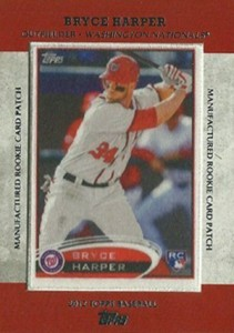 2013 Topps Series 1 Baseball Rookie Patch RCP 24 Bryce Harper 211x300 Image