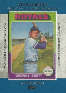 2013 Topps Series 1 Baseball Rookie Patch RCP 9 George Brett 212x300 Image