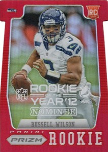 2012 Panini Contenders Pepsi Max Rookie of the Year Nominee Russell Wilson 212x300 Image