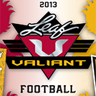 2013 Leaf Valiant Football Cards