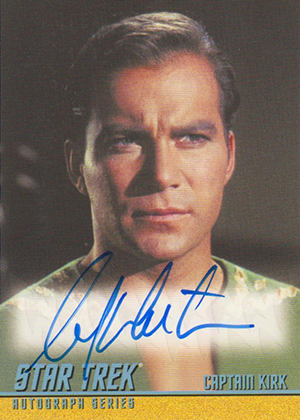2013 Star Trek TOS Heroes and Villains Autographs A269 Image
