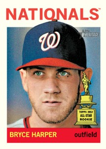 2013 Topps Heritage Bryce Harper 215x300 Image