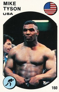1987 Panini Supersport Mike Tyson