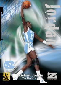 2012 13 Fleer Retro Basketball Z Force Rave Michael Jordan Image