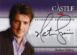 2013 Cryptozoic Castle Seasons 1 and 2  Autographs Nathan Fillion