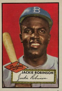 1952 Topps Jackie Robinson