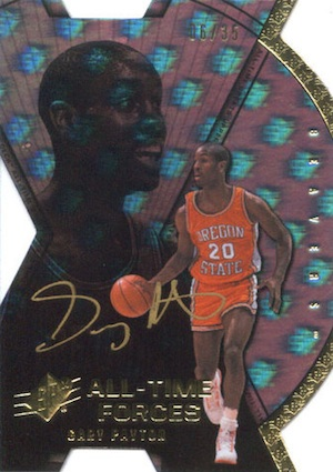 2012 13 Upper Deck All Time Greats Basketball Forces Signatures Card Image