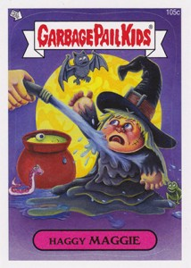 2013 Topps Garbage Pail Kids Brand New Series 2 105c Haggy Maggie 214x300 Image