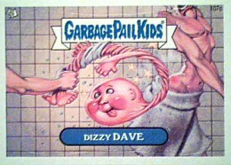 2013 Topps Garbage Pail Kids Brand New Series 2 107c Dizzy Dave 260x186 Image