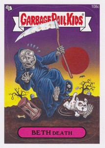 2013 Topps Garbage Pail Kids Brand New Series 2 108c Beth Death 214x300 Image