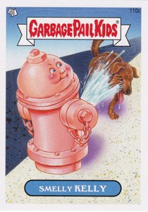2013 Topps Garbage Pail Kids Brand New Series 2 110c Smelly Kelly 210x300 Image