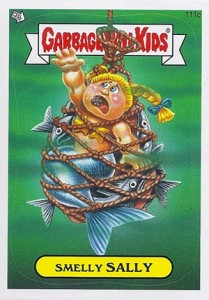 2013 Topps Garbage Pail Kids Brand New Series 2 111c Smelly Sally 209x300 Image