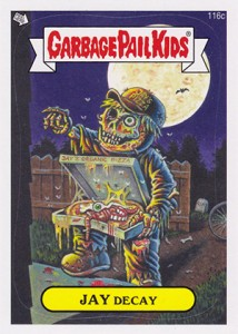2013 Topps Garbage Pail Kids Brand New Series 2 116c Jay Decay 214x300 Image