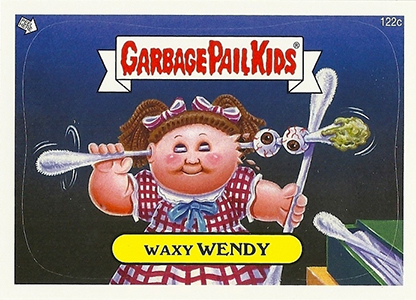 2013 Topps Garbage Pail Kids Brand New Series 2 122c Waxy Wendy Image