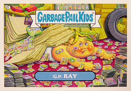 2013 Topps Garbage Pail Kids Brand New Series 2 123c GP Kay Image