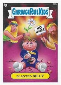 2013 Topps Garbage Pail Kids Brand New Series 2 128c Blasted Billy 215x300 Image