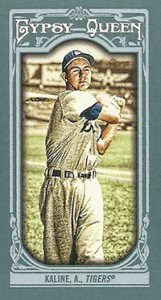 2013 Topps Gypsy Queen Mini Variations Al Kaline 161x300 Image