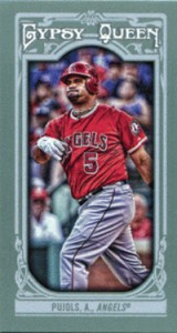 2013 Topps Gypsy Queen Mini Variations Albert Pujols 160x300 Image