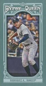 2013 Topps Gypsy Queen Mini Variations Alex Rodriguez 163x300 Image