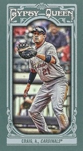 2013 Topps Gypsy Queen Mini Variations Allen Craig 166x300 Image