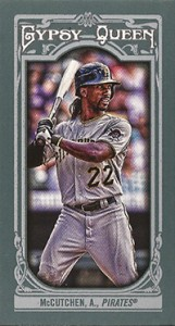 2013 Topps Gypsy Queen Mini Variations Andrew McCutchen 161x300 Image