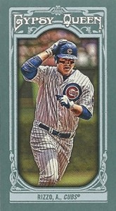 2013 Topps Gypsy Queen Mini Variations Anthony Rizzo 165x300 Image