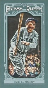 2013 Topps Gypsy Queen Mini Variations Babe Ruth 164x300 Image