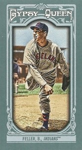 2013 Topps Gypsy Queen Mini Variations Bob Feller 164x300 Image
