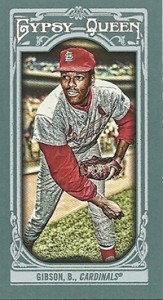 2013 Topps Gypsy Queen Mini Variations Bob Gibson 163x300 Image
