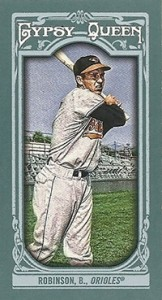 2013 Topps Gypsy Queen Mini Variations Brooks Robinson 162x300 Image