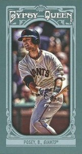 2013 Topps Gypsy Queen Mini Variations Buster Posey 161x300 Image