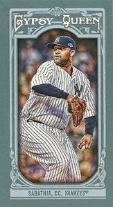 2013 Topps Gypsy Queen Mini Variations CC Sabathia 163x300 Image