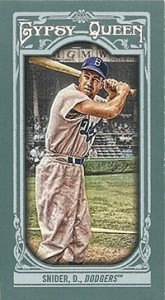 2013 Topps Gypsy Queen Mini Variations Duke Snider 165x300 Image