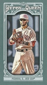 2013 Topps Gypsy Queen Mini Variations Dustin Pedroia 165x300 Image
