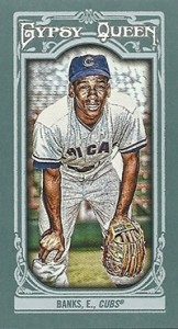 2013 Topps Gypsy Queen Mini Variations Ernie Banks 162x300 Image