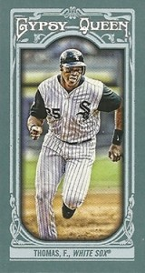 2013 Topps Gypsy Queen Mini Variations Frank Thomas 160x300 Image