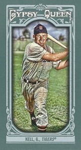 2013 Topps Gypsy Queen Mini Variations George Kell 163x300 Image