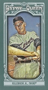 2013 Topps Gypsy Queen Mini Variations Harmon Killebrew 162x300 Image