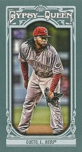 2013 Topps Gypsy Queen Mini Variations Johnny Cueto 162x300 Image
