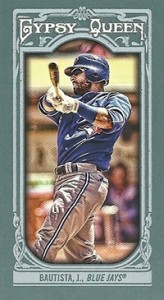 2013 Topps Gypsy Queen Mini Variations Jose Bautista 164x300 Image