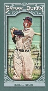 2013 Topps Gypsy Queen Mini Variations Larry Doby 160x300 Image