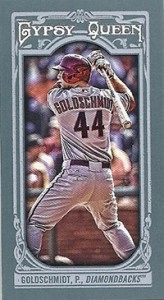 2013 Topps Gypsy Queen Mini Variations Paul Goldschmidt 164x300 Image