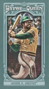 2013 Topps Gypsy Queen Mini Variations Reggie Jackson 167x300 Image