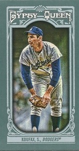 2013 Topps Gypsy Queen Mini Variations Sandy Koufax 158x300 Image