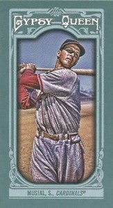 2013 Topps Gypsy Queen Mini Variations Stan Musial 163x300 Image
