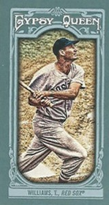 2013 Topps Gypsy Queen Mini Variations Ted Williams 160x300 Image
