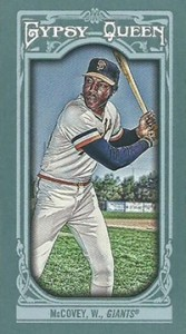 2013 Topps Gypsy Queen Mini Variations Willie McCovey 167x300 Image
