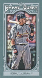 2013 Topps Gypsy Queen Mini Variations Yadier Molina 163x300 Image